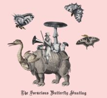 The Voracious Butterfly Hunting One Piece - Long Sleeve