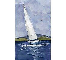Sail away Photographic Print