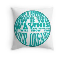 I've brought you a gift Throw Pillow