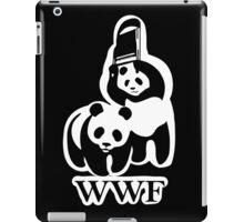 WWF panda parody iPad Case/Skin