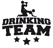 Drinking Team Logo Design by Style-O-Mat