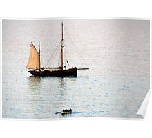 New Boat In The Bay.............. Poster