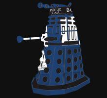 Tardis Dalek  Kids Tee