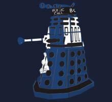 Tardis Dalek  One Piece - Long Sleeve