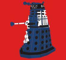 Tardis Dalek  One Piece - Short Sleeve