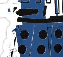 Tardis Dalek  Sticker