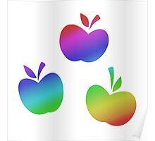 MLP - Cutie Mark Rainbow Special - Applejack V2 Poster