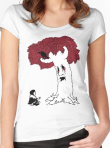 THE VISION GIVING TREE Women's Fitted Scoop T-Shirt