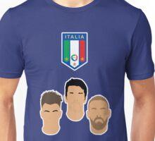 Italy - El Shaarawy, Buffon, De Rossi - Euro 2016 Unisex T-Shirt