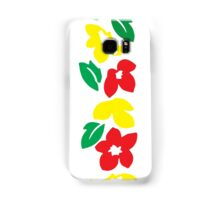 Rasta Flowers Samsung Galaxy Case/Skin