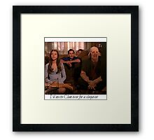Buffy Clem Framed Print