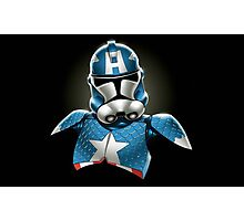 Captain America Stormtrooper Photographic Print