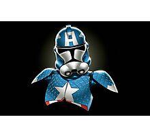 Captain America Stormtrooper Photographic Print