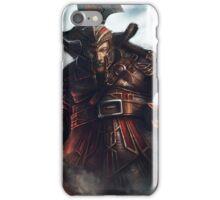 Dwarf Fighter Portrait iPhone Case/Skin