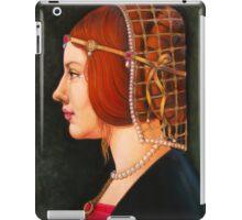 Leonardo's Beatrice iPad Case/Skin