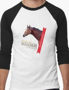 NOOZHOH CANARIAS * 2000 Guineas * Men's Baseball ¾ T-Shirt