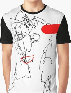 Red :D Graphic T-Shirt
