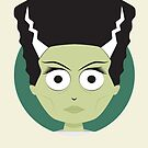 Little Monsters: Bride of Frankenstein by renduh