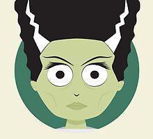 Little Monsters: Bride of Frankenstein by renduh