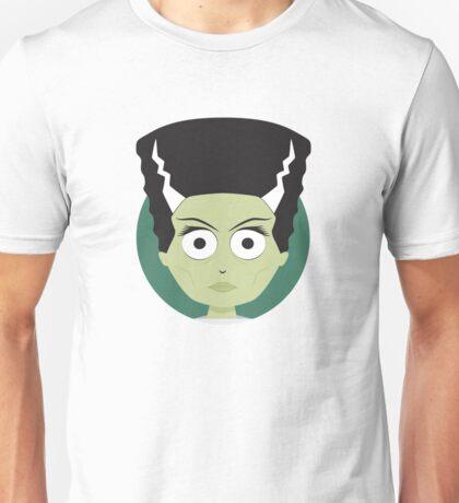 Little Monsters: Bride of Frankenstein Unisex T-Shirt