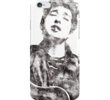 Bob Dylan portrait 01 iPhone Case/Skin
