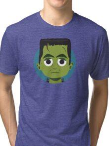 Little Monsters: Frankenstein Tri-blend T-Shirt
