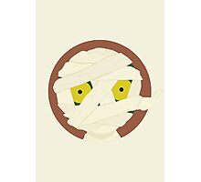 Little Monsters: The Mummy Photographic Print
