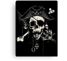 The Pirates Skull Canvas Print