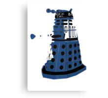 Tardis Dalek  Canvas Print