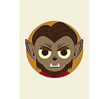 Little Monsters: Wolfman Photographic Print
