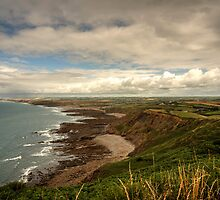 North Cornish Landscape  by Rob Hawkins