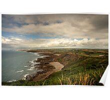 North Cornish Landscape  Poster