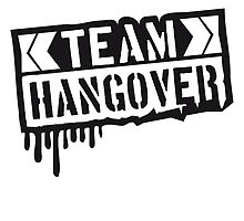Cool Team Hangover Graffiti Stempel by Style-O-Mat