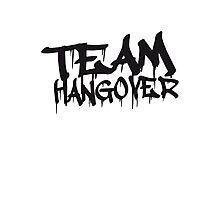 Cool Team Hangover Graffiti Photographic Print