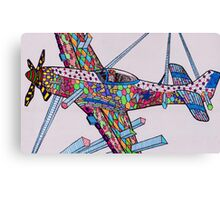 Mustang Silly! Canvas Print