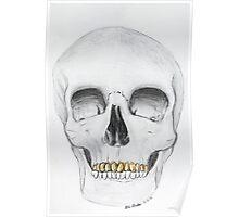 Skull Grillz Poster