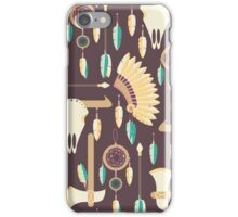 Indians Pattern iPhone Case/Skin