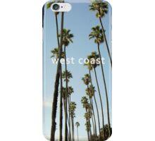 west coast iPhone Case/Skin