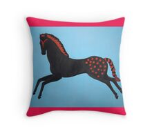 Painted Pony Pillow and Tote Bag Throw Pillow