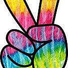 Tie-Dye Peace! by ImageMonkey