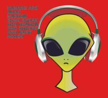 Human Music Baby Tee