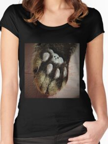 Cat Teddy Women's Fitted Scoop T-Shirt