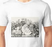Garden orchard and vine - 1867 - Currier & Ives Unisex T-Shirt
