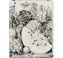 Garden orchard and vine - 1867 - Currier & Ives iPad Case/Skin