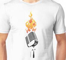 Mic on Fire Unisex T-Shirt