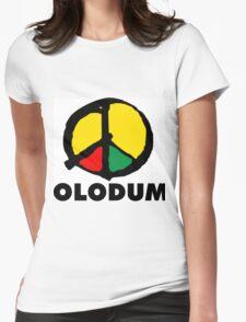 OLODUM BRAZILIAN CULTURE Womens Fitted T-Shirt