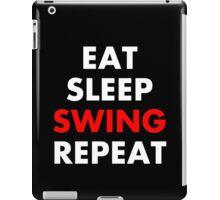 Cesaro - Eat Sleep Swing Repeat iPad Case/Skin