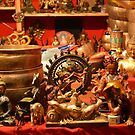 Shiva and Others. Statuettes at the Festival of the Orient, Milan, Italy 2016 by Igor Pozdnyakov