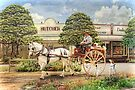 The Butchers Cart by Trudi's Images