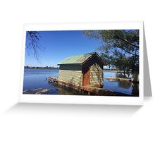 Lake Wendouree Greeting Card